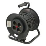 kábel villamos hosszabbító dobra tekerve