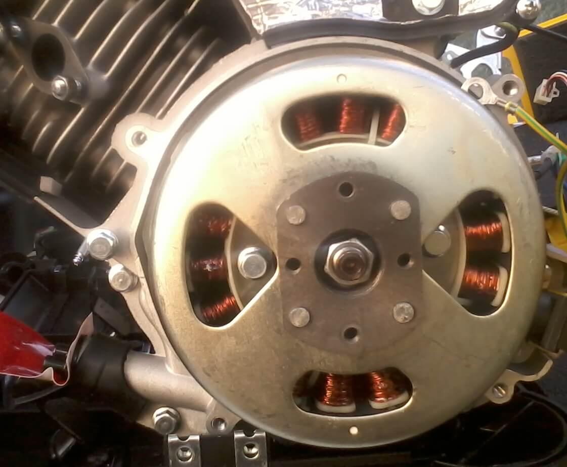 nagyfrekvenciás áramfejlesztő generátor